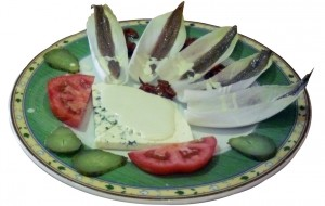 Endives with roquefort