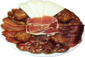 Iberian products round